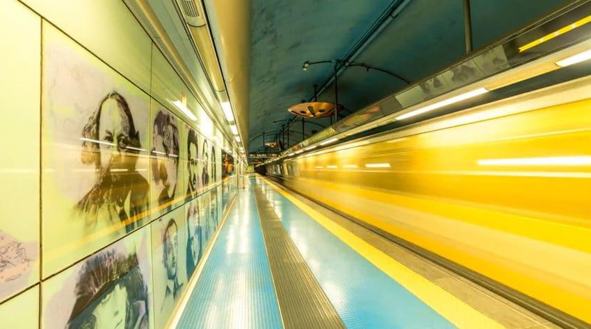 Metropolitana di Napoli e Stazioni dell'Arte